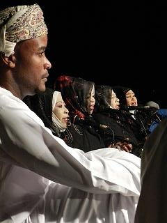 the choir, Oman
