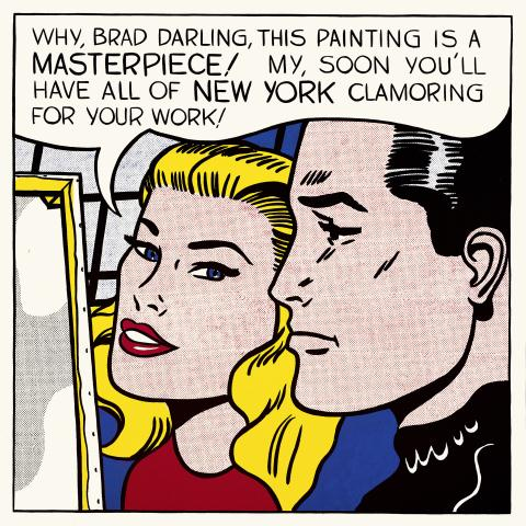 Masterpiece, Roy Lichtenstein 1962, Private Collection, copyright Estate of Roy Lichtenstein/DACS2012