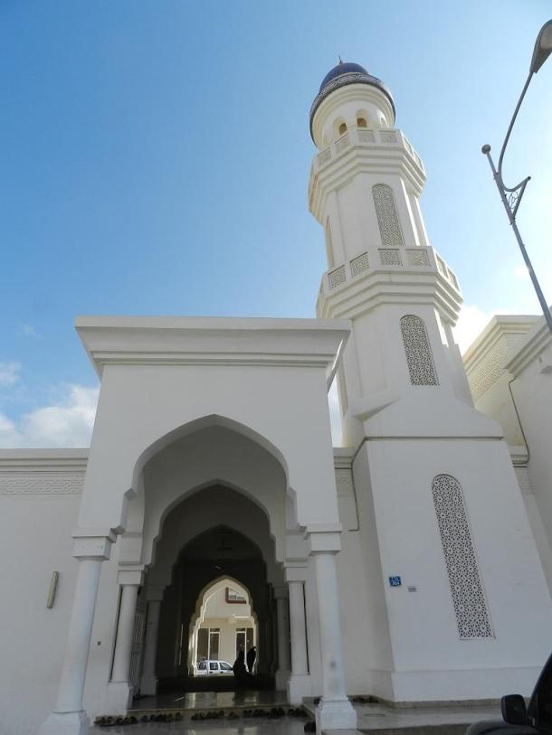 Sheikh Ahmed al Mashani Mosque. Grandfather of HM Mazoon bint Ahmed Ali Al Mashani, mother of Sultan Qaboos