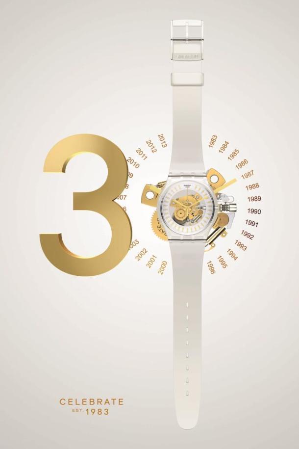 Swatch celebrates 30 years