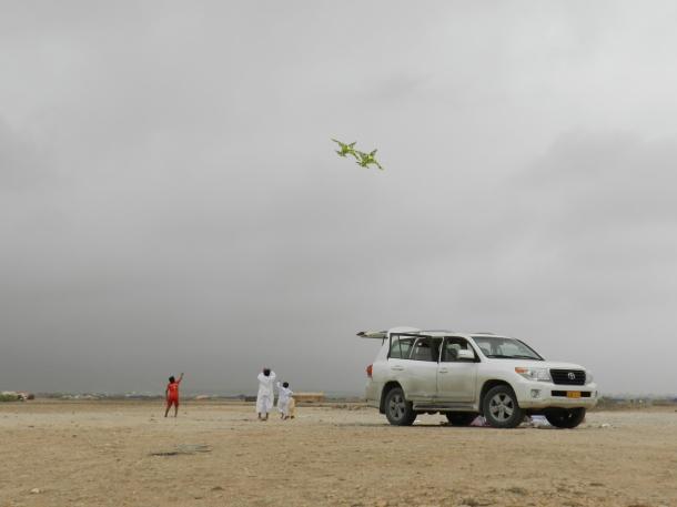 Khareef, season of the kites, copyr. MDK