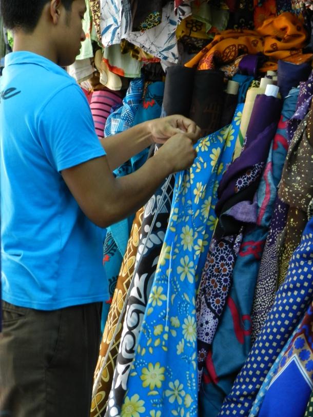 Textile shops Salalah, Hafa Suq