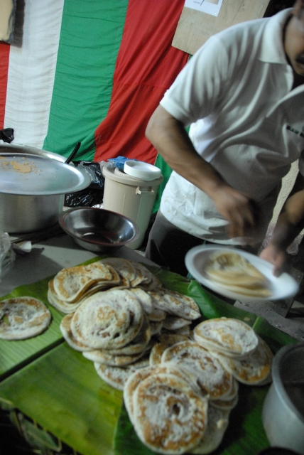 Jesus Youth Street food: Dosa