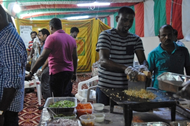Tamil Community from the South of India: Rice and vegetables play a significant role in the Tamil cuisine