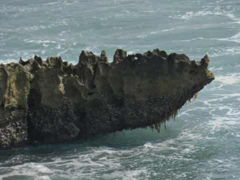 Vulcanic rock formation, look a like....