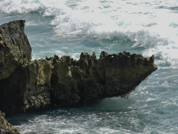 Vulcanic rock formation, look a like...