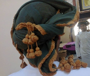 A turban that matches yourpersonality