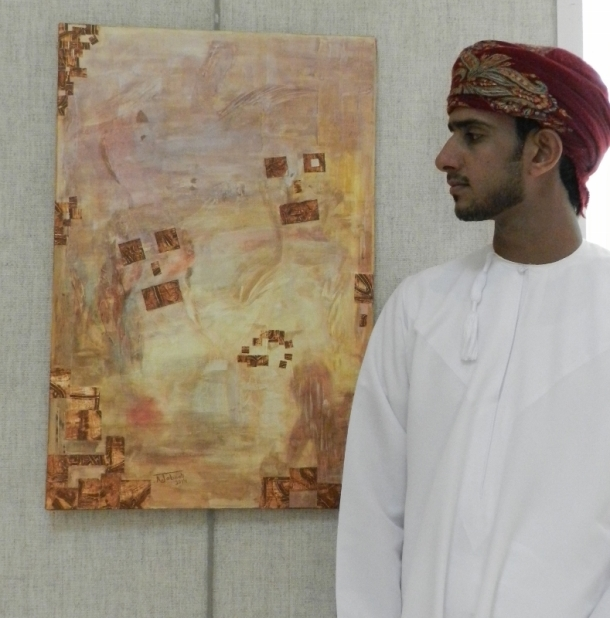 Ahmed Jaboob: Smiling faces