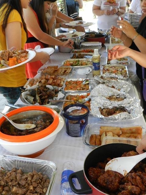 Traditional Filipino food