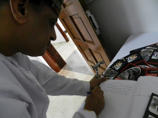 Ahmed Al Amri, Technical Advisor of the Minister of State of Dhofar Governorate: This exhibition done by individual efforts talks about a communal issue. The way these artist make the community aware of keeping the roads safe is remarkable and hopefully other youngsters will follow. There is an Arab saying: One picture can speak a thousand words.