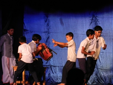 In this play is clearly shown how poverty and social problems can affect the educational development of a young boy, who eagerly tries to be part of the society based on a question the teacher gave him....