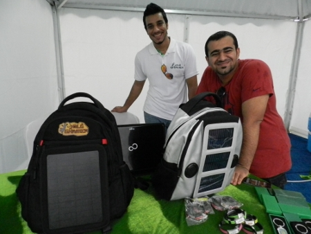 A competition between the Colleges of technology in Oman was the reason for 17 people to joins hands and ideas. Soon Ghamer (adventure) was born. An application on tours in Oman and two solar backpacks, one for mountaineers was made. After the competition the company becomes a fact. From that moment orders can be placed.