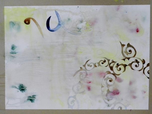 Muna Ahmed, work in progress