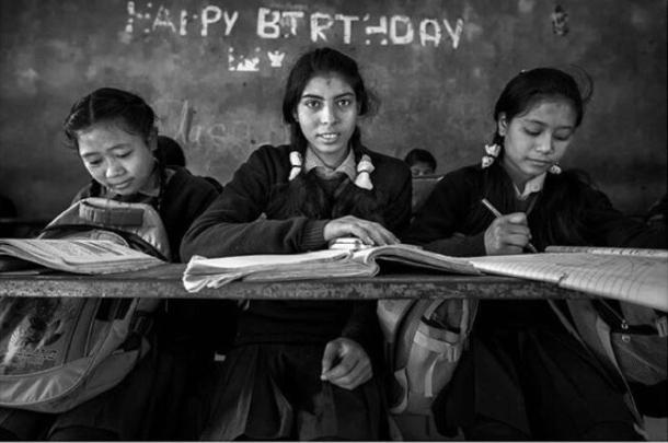 Second Prize, Photography Society Dhofar Forum, Al Hadi Ba Omar ( EFIAP), 'Love of Learning'
