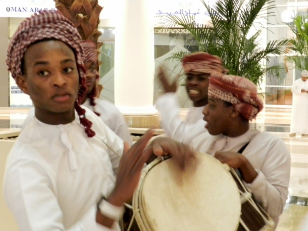 Tabl (percussion instruments) of Oman used during festivals and traditional music performances