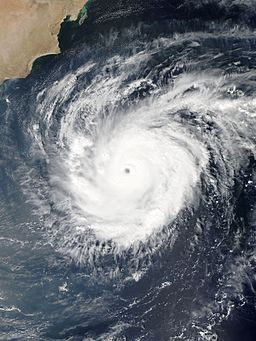 Chapala during peak intensity on 30 October 2015, NASA,